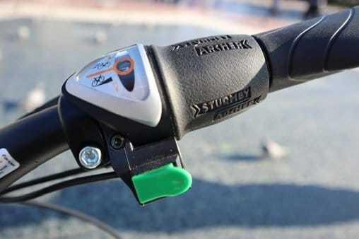 Acelerador bicicleta electrica