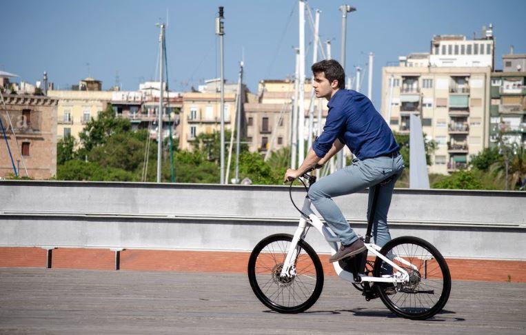 Bicicleta electrica para ir a trabajar