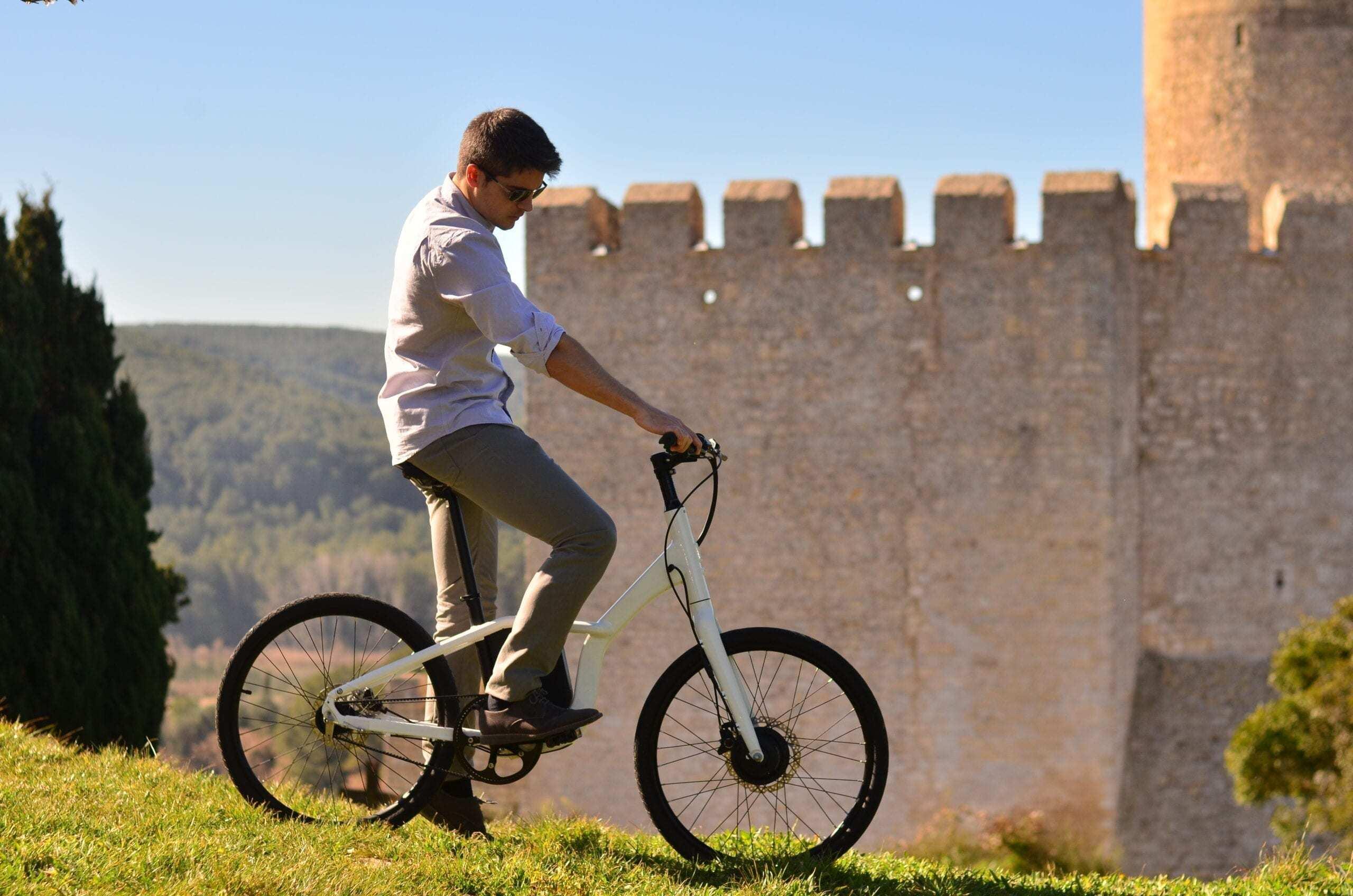 Cómo funciona una bicicleta eléctrica