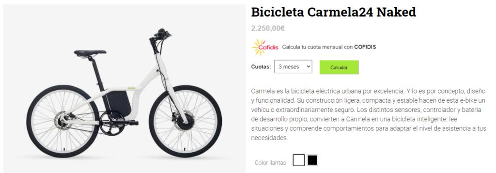 Financiar bici eléctrica