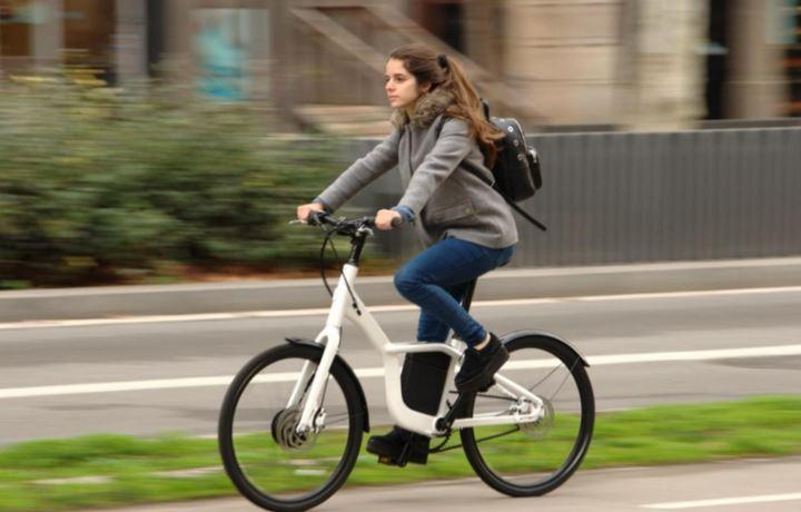 Bicicleta urbana minimalista