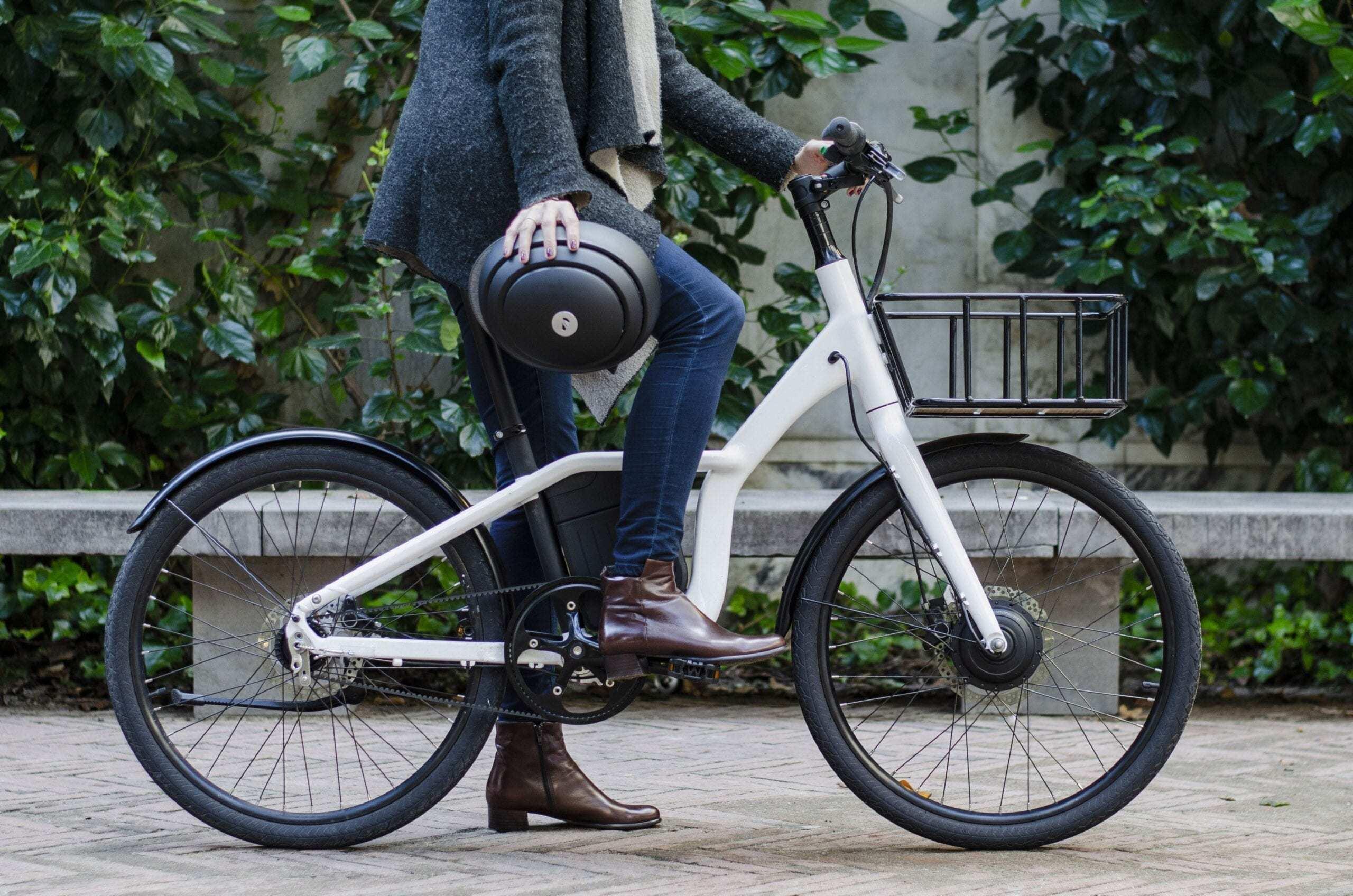 Talla bicicleta urbana