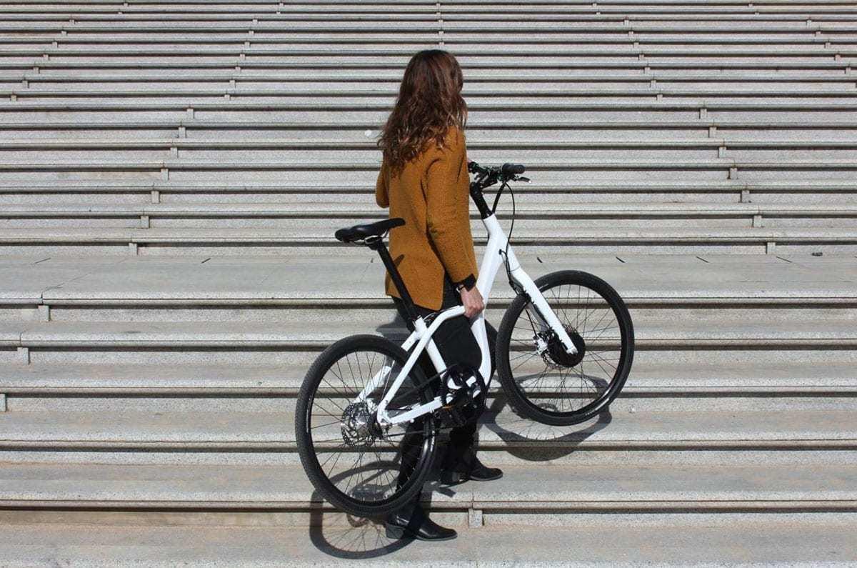 Bicicleta eléctrica de paseo