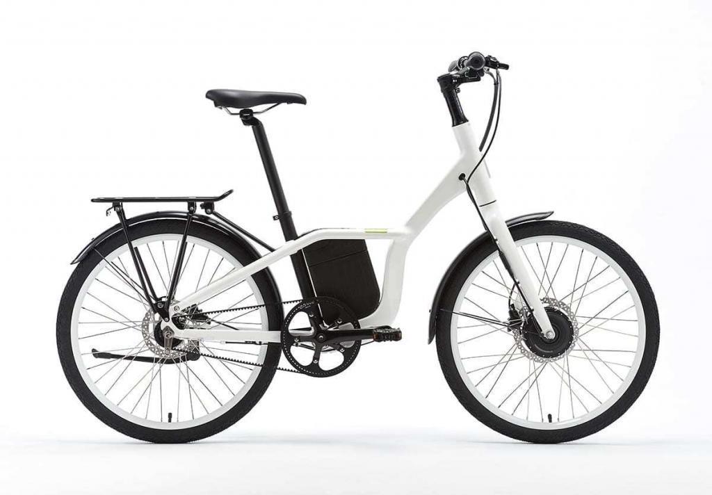 Bicicleta eléctrica motor delantero